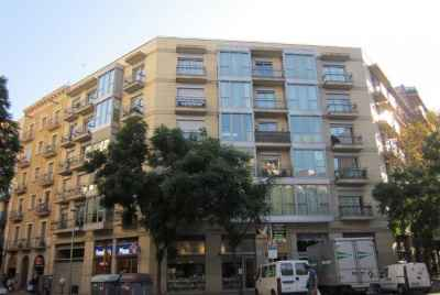 Several apartments in a new complex in Barcelona near the park Ciutadella